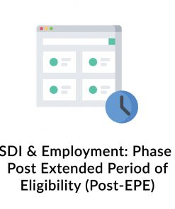 SSDI & Employment: Phase 3 Post Extended Period of Eligibility (Post-EPE)